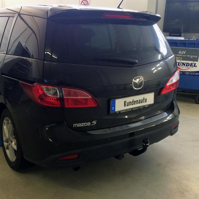mit 7p E-Satz Für Mazda 5 CW ab10 Anhängerkupplung abnehmbar VERT