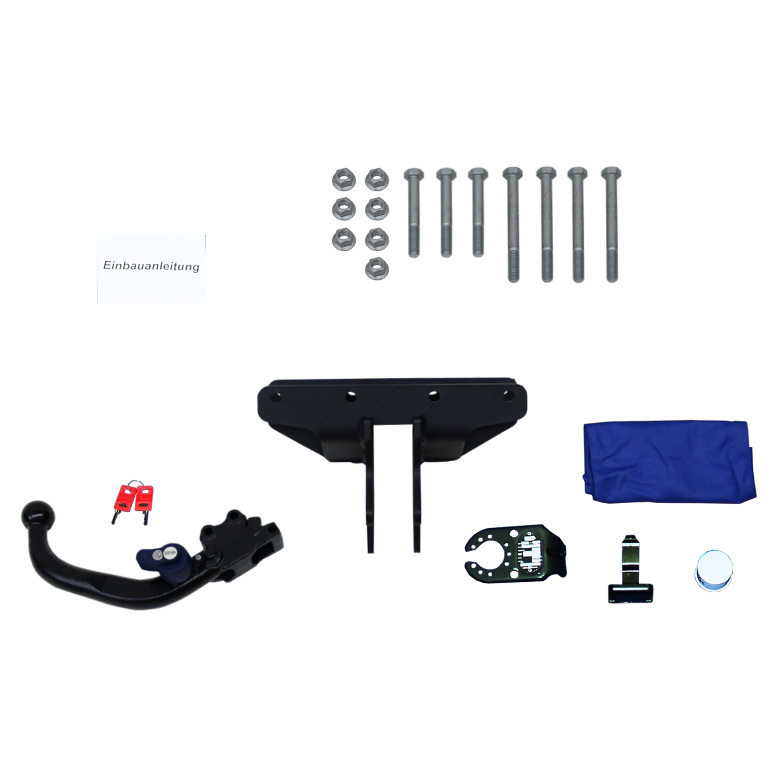 brink anh ngerkupplung jeep wrangler iii abnehmbar bj 07 rameder. Black Bedroom Furniture Sets. Home Design Ideas
