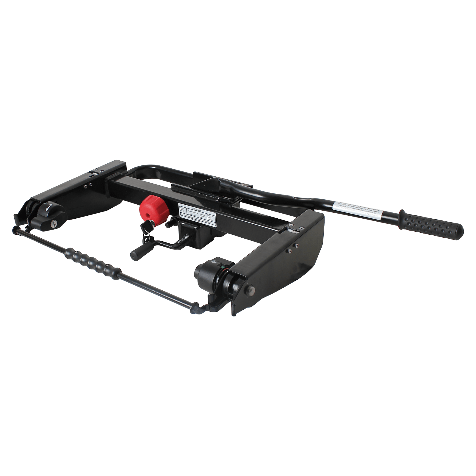 tragemodul backcarrier mft f r transportbox backbox oder. Black Bedroom Furniture Sets. Home Design Ideas