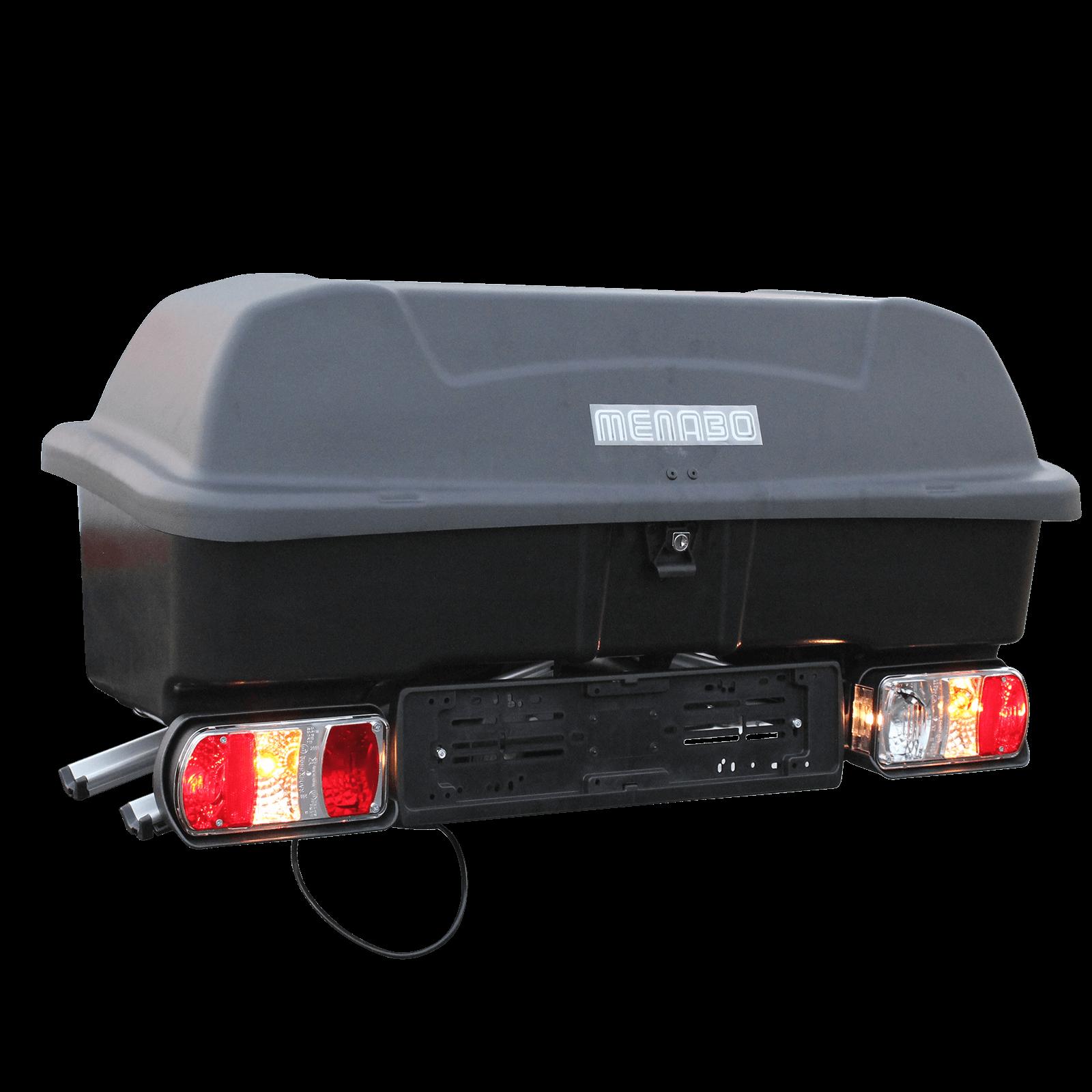 fahrradtr ger inkl transportbox wi box f r 2 fahrr der. Black Bedroom Furniture Sets. Home Design Ideas