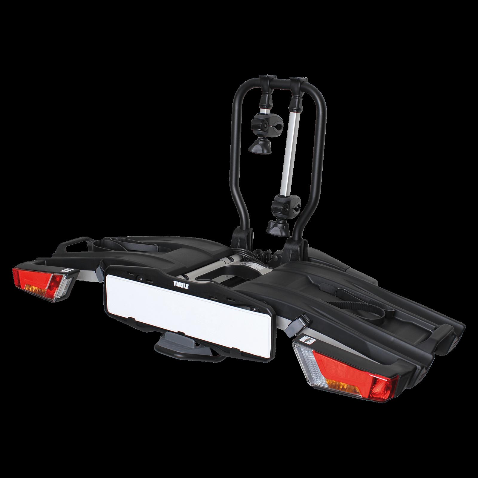 fahrradtr ger thule easyfold xt 2 933 f r 2 fahrr der montage auf der anh ngerkupplung. Black Bedroom Furniture Sets. Home Design Ideas