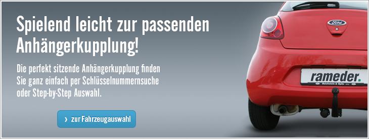 Spielend leicht zur passenden Anhängerkupplung in Österreich.
