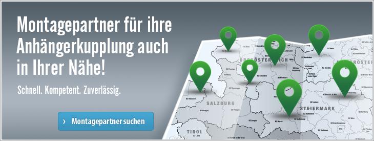 Montagepartner für ihre Anhängerkupplung in Österreich. Auch in Ihrer Nähe!